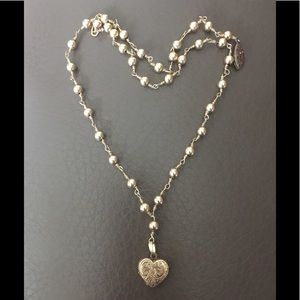 Jewelry - Beautiful Vintage Heart Necklace ❤️